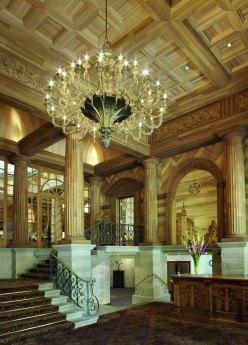 Kulm Hotel St Moritz - lobby