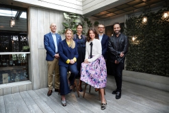 BFC Executive Board - Dylan Jones OBE%2c Anya Hindmarch MBE%2c Caroline Rush CBE%2c Dame Natalie Massenet%2c David Pemsel%2c José Neves (Shaun James Cox%2c BFC)